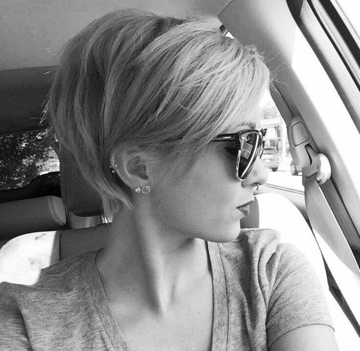 Juste l'amour des cheveux courts   – Frisur