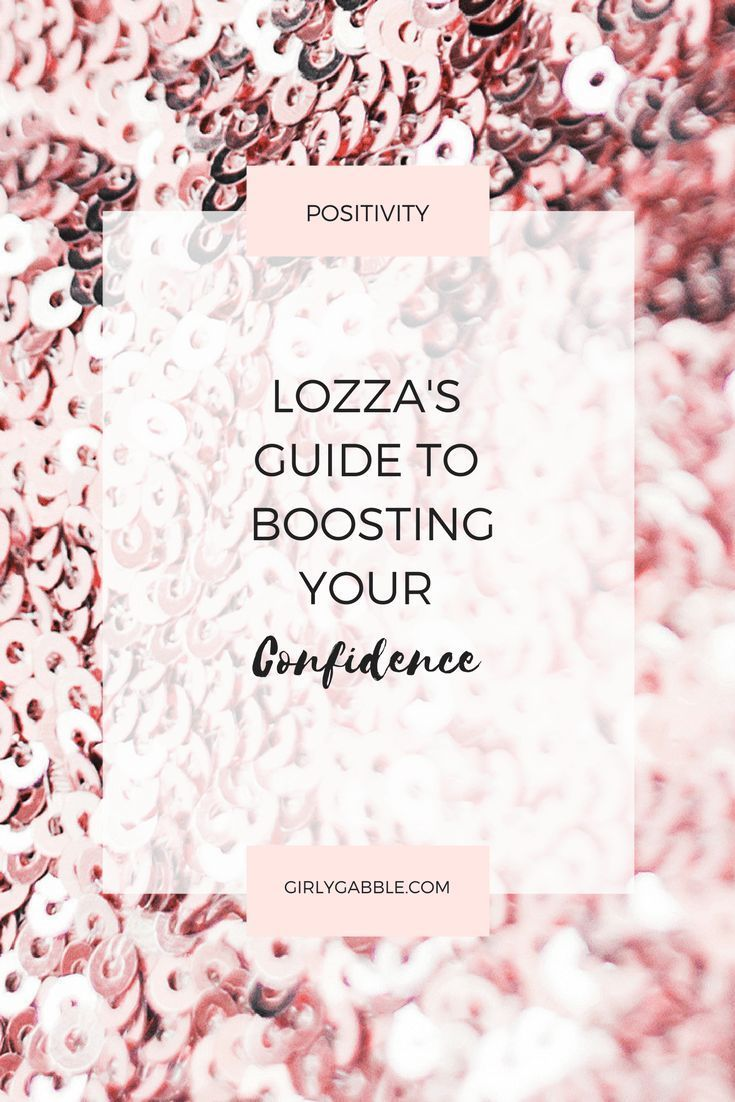 quick confidence boosters
