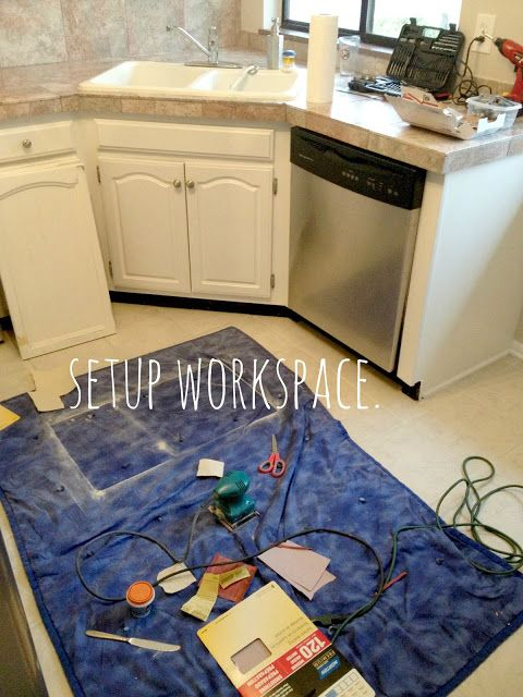 Hack For Patching Kitchen Countertops
