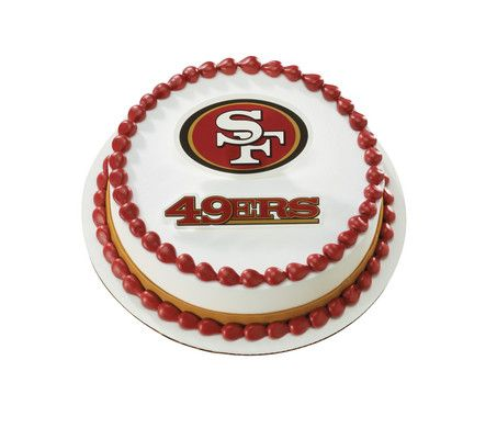 NFL San Francisco 49ers Cake
