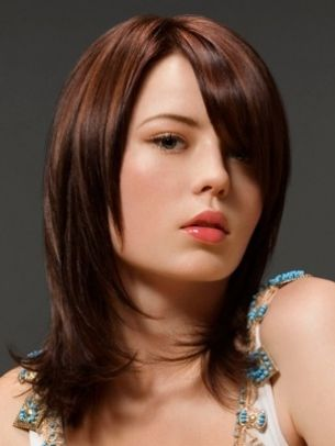 Shoulder-Length Medium Hairstyles 2012 - Midis will never go out of style. The following shoulder-length medium hairstyles 2012 provide you with the best motivation to add a flattering and versatile silhouette to your tresses.