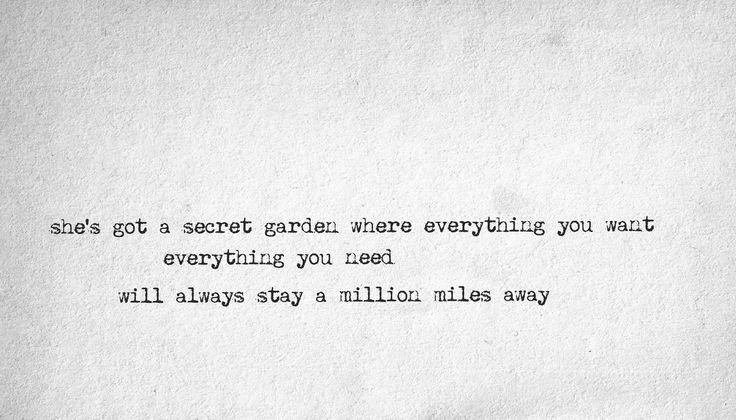 Bruce Springsteen - Secret Garden. Probably my favorite Springsteen song