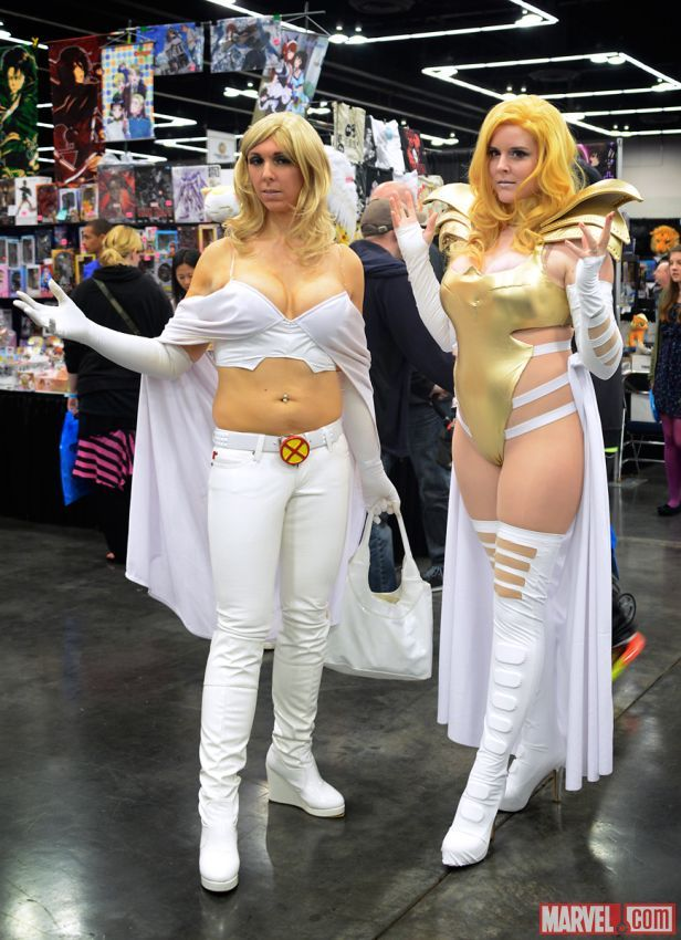 We did a thing! Emma Frost Cosplay at Wizard World Portland Comic Con 2015