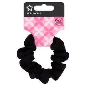 Superdrug black scrunchie