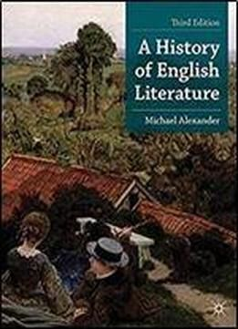 A History Of English Literature (palgrave Foundations Series) free ebook