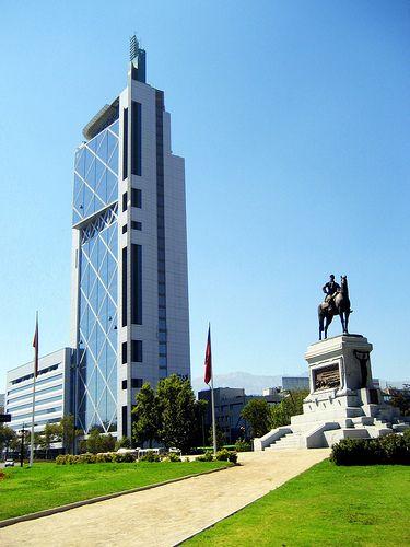 Plaza Italia. Santiago . Chile