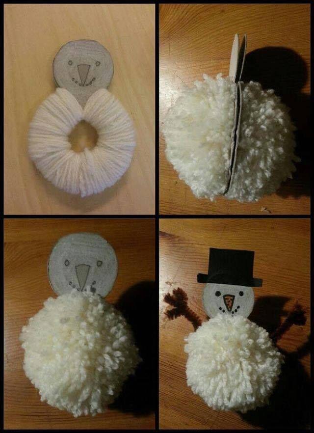 pompon hóember                                                                                                                                                                                 Mehr