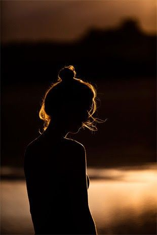 loneliness, woman, girl, inspiration, silhouette, summer, sunset