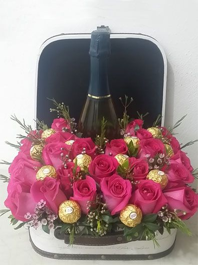 Flower Chocolate Wine Gifts Puerto Rico By Chocolates Bloom
