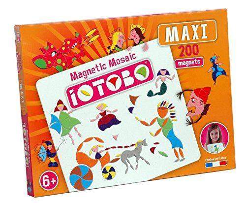 Iotobo - ITB1502 - Loisirs Créatifs - Mosaïque Magnétique Maxi Jeunes Artistes - 200 Pièces Iotobo http://www.amazon.fr/dp/B000TQL9JG/ref=cm_sw_r_pi_dp_7aYwwb1KFHNT2