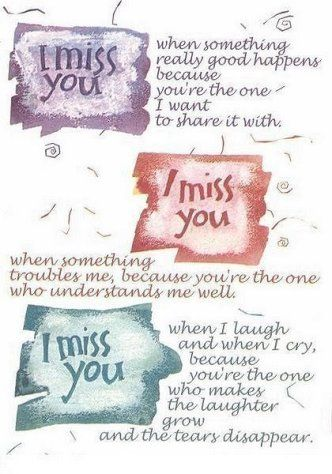 Missing Someone You Love Poems | Just Copy and paste this HTML code in Friend's Scrapbook or Commentbox ...