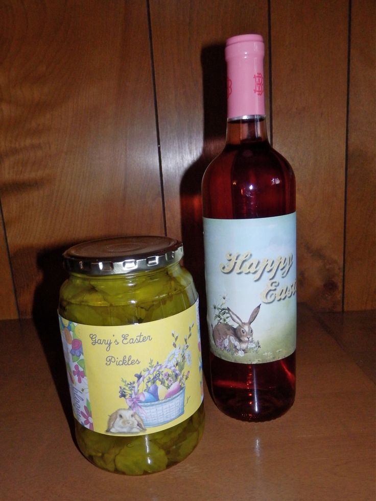 31 best lets wrap it up mine images on pinterest wraps gift my youngest has loved pickles from the time he was a baby so this is an easter joke gift every year garys easter pickles and a bottle of wine for the negle Choice Image
