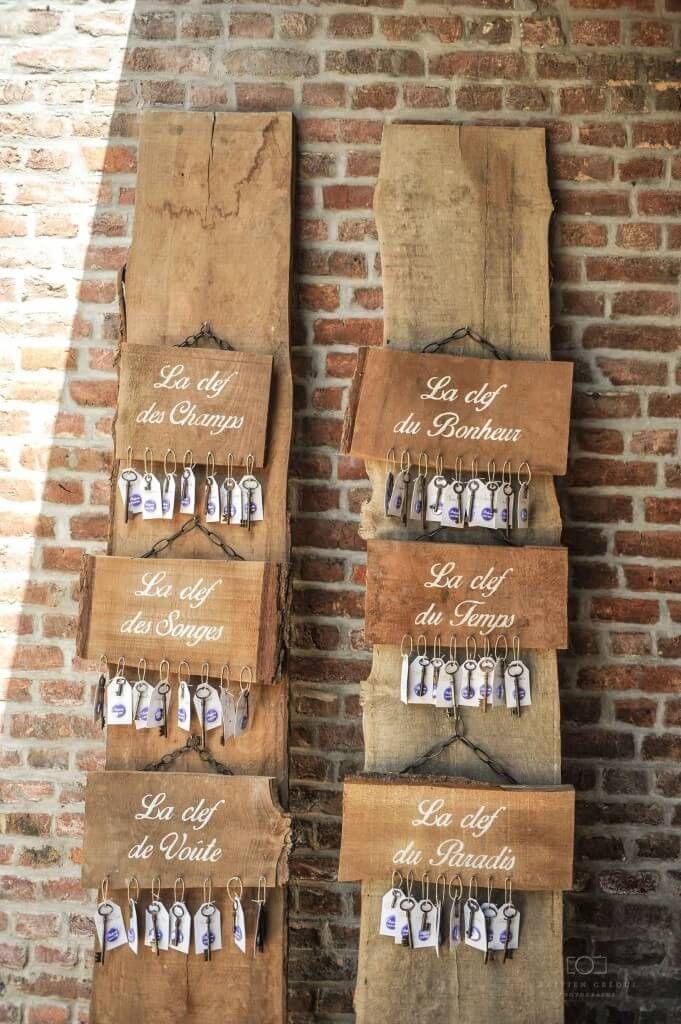 Exceptional Plan De Table Bois #14: Ensemble Des Panneaux De Bois Rustiques Composants Le Plan De Table