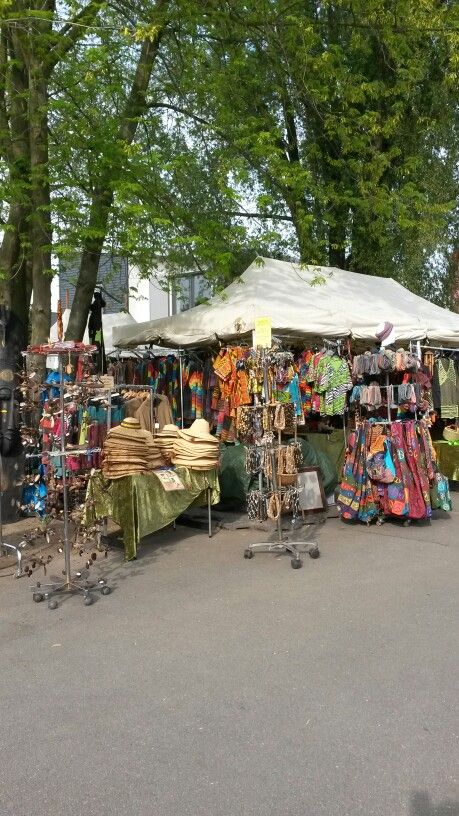 Afrikanisches Dorf  Maimarkt Mannheim 2015