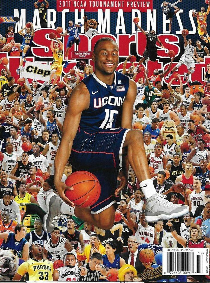 Sports Illustrated Magazine Basketball March Madness Ncaa