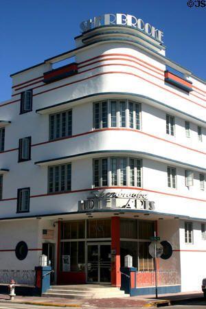 Sherbrooke Hotel 1947 901 Collins Ave Miami Beach