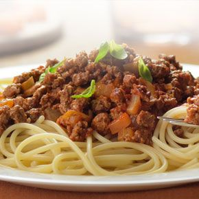 Quorn..spaghetti-bolognese... Try our Quorn Spaghetti Bolognese recipe for a healthier spag bol and clean plates all round... Serves 4...