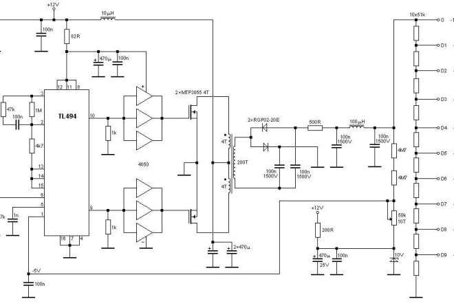 Stable Power Supply For High Voltage 100v To 1000v Power Supply High Voltage Power