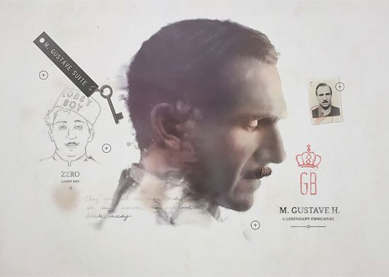 The Grand Budapest Hotel Graphics by Annie Atkins