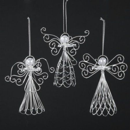 handmade wire angel halos - Google Search