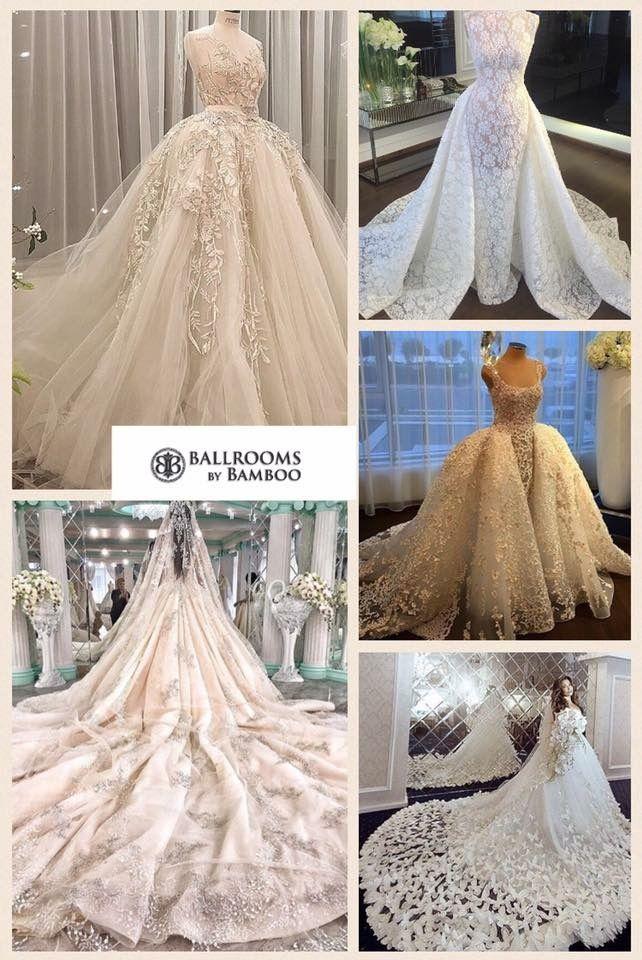 Wedding dresses inspiration Ballrooms by Bamboo