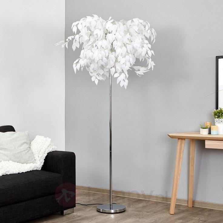 Lampa stojąca Leaves w stylu młodzieżowym 8032085
