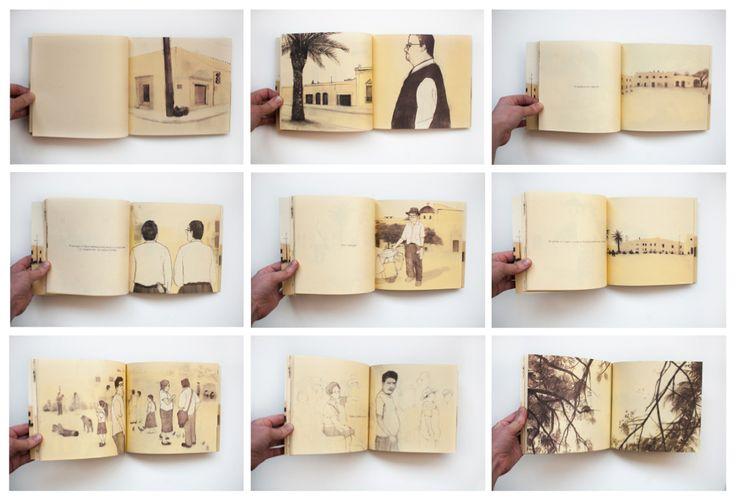 """Afuera y Adentro"" by Mónica Naranjo Uribe. Visual narrative inspired by Oaxaca, Mexico. Published by Laguna Libros and Nómada Ediciones. 19x17, 80 pages. Contact: nomada.ediciones@gmail.com We ship worldwide!"