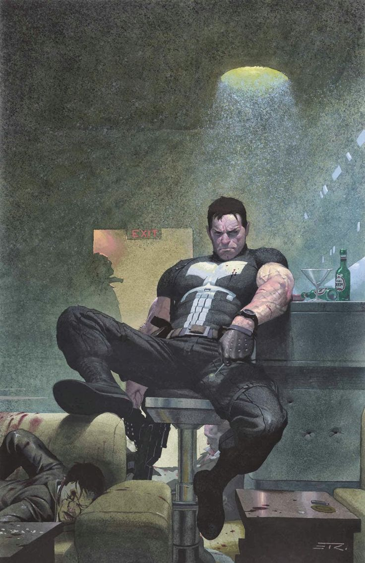 """#Punisher #Fan #Art. (UNTOLD TALES OF THE PUNISHER MAX #3 (of 5) Cover) By: ESAD RIBIC. [THANK U 4 PINNING!!] (To watch """"PUNISHER the popsicle sceen"""" simply tap the URL below while in your browser: http://m.youtube.com/watch?v=jfMO0E-AUK4 P.S. Enjoy the laugh!.. :-)"""
