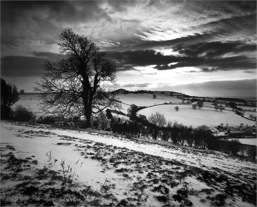 35Mm Black And White Film Landscape Photography