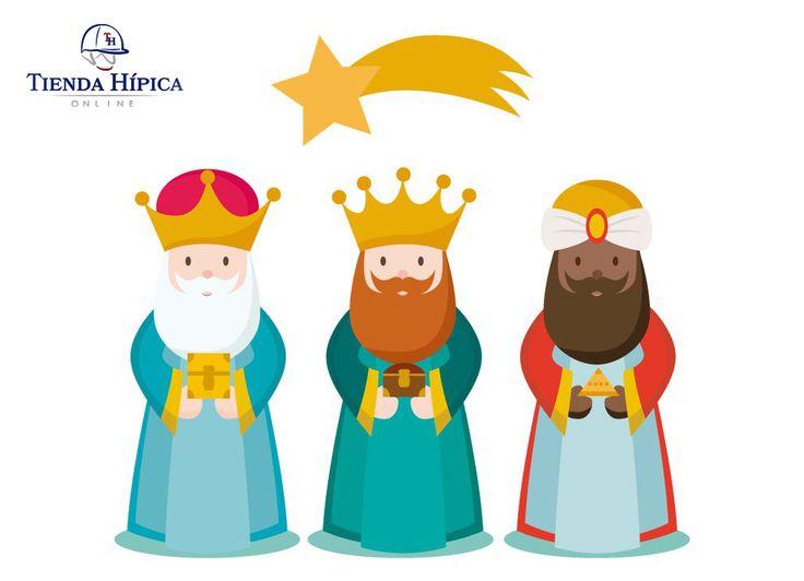 Sus Majestades los Reyes Magos de Oriente prometen repartir los regalos de Tienda Hípica Online en 24 horas. ¡Haz tu pedido ya!