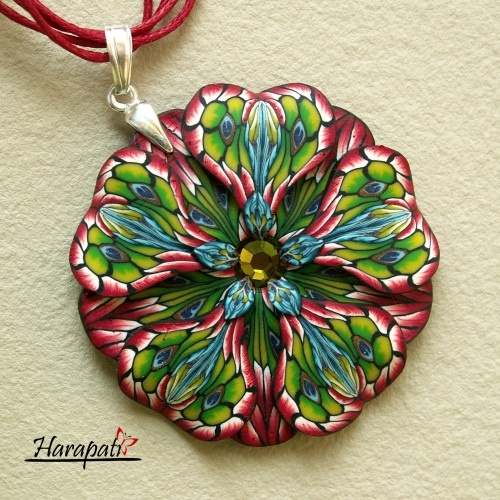 Harapati - biżuteria z FIMO i Art Clay... (My polymer clay and art clay jewelry)