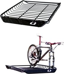 Kuat Vegabond 2 Bike Roof Basket. Perfect for all your camping and/or offroading gear. www.trivelosports.com