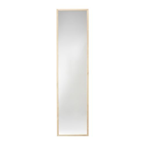ikea stave hinging mirror can create an inexpensive three way mirror by hanging three. Black Bedroom Furniture Sets. Home Design Ideas
