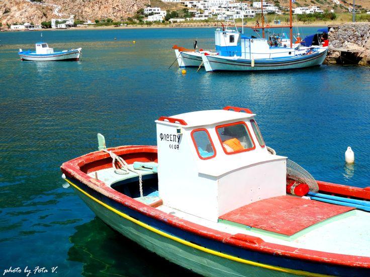 Kamares beach, Sifnos island
