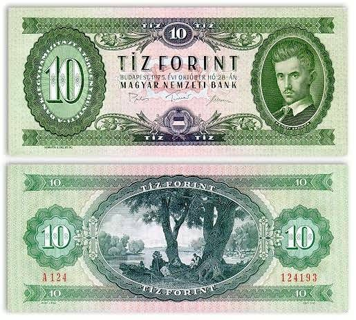 Legalább 40éves bankjegy