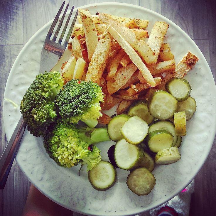 Dieta dr Dąbrowskiej - frytki z kalarepy