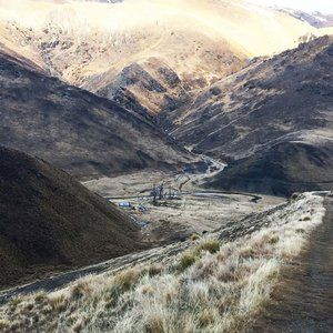 Tramping in the wilderness to a remote old sheep shearers hut with my nine-year old - Cardrona, New Zealand