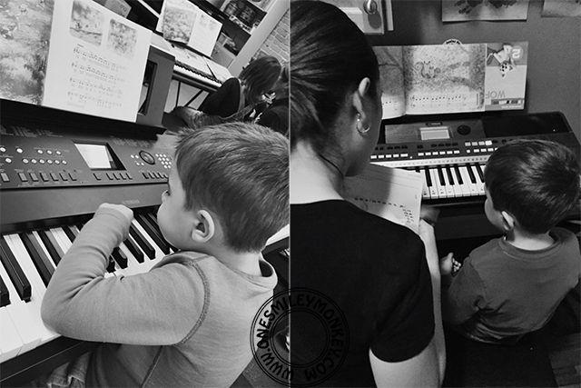 Yamaha Kids Music Education {January Update}