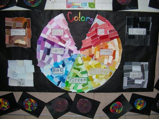 Inquiring About Color (from Inquiring Minds: Mrs. Myers' Kindergarten)