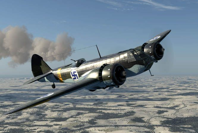 The Finnish Blenheims flew 423 missions during the Winter War, and close to 3,000 missions during the Continuation War and Lapland War. Blenheim machine-gunners also shot down eight Soviet aircraft. Thirty-seven Blenheims were lost in combat during the wars.