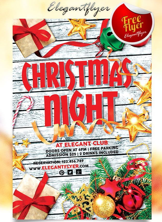 Best  Free Christmas Flyer Templates Ideas On