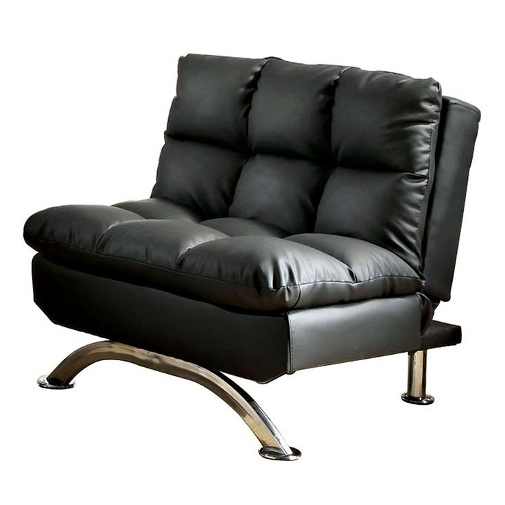 Venetian Worldwide Aristocrat Futon Chair, Black