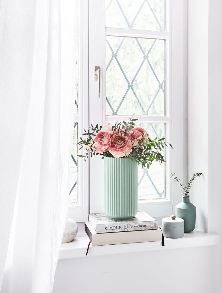 Sommerlicher Ausblick! Die Vase The Lyngby im fris…
