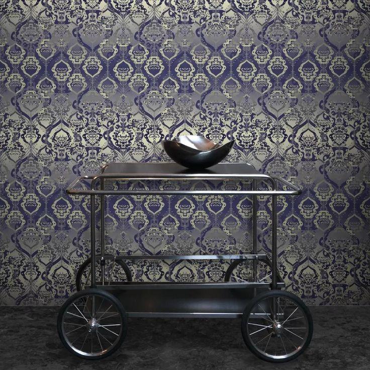 Crescendo wallpaper on Feathr.com designed by Sari Taipale