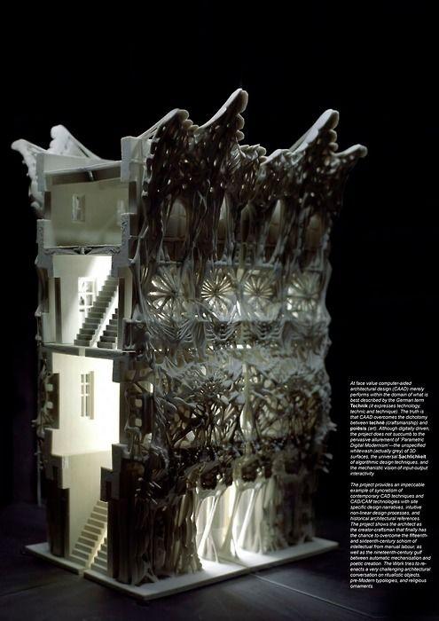 Tobias Klein, neo-baroque architecture, architectural model, maquette, modelo