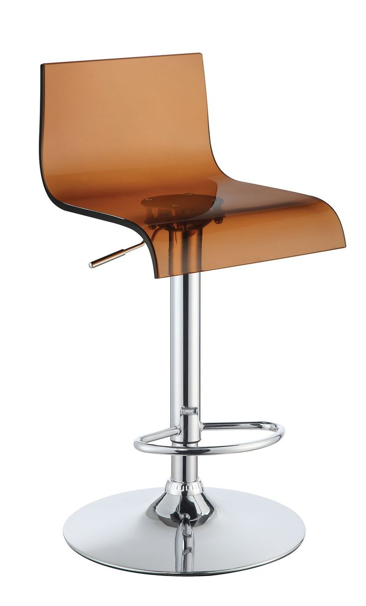 Enitial Lab Pascal Contemporary High-Backed Bar Stool (Set of Two)