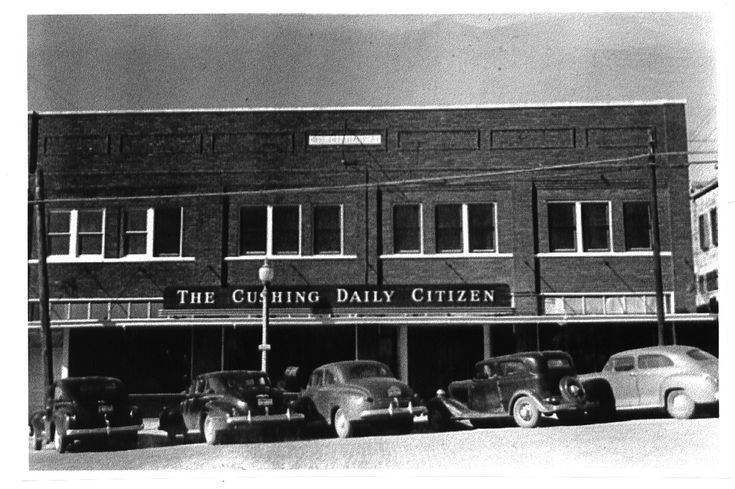 The Cushing Daily Citizen, Cushing, Oklahoma