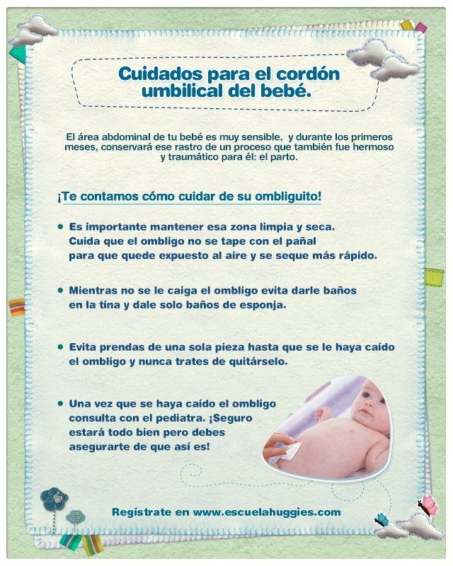 ¡Hoy compartimos contigo cómo debes cuidar del ombliguito de tu bebé!