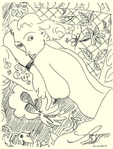 Henri Matisse | Femme se reposant