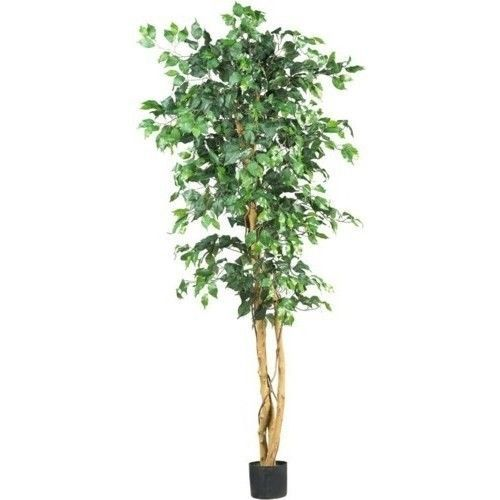 6ft-Silk-Tree-Natural-Green-Decor-Plants-Artificial-Entryway-Windows-Living-Room